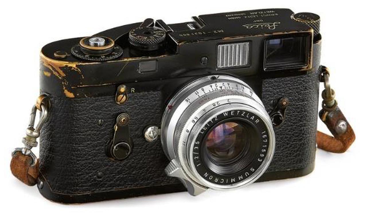 """画像1: Leica M2 Black Paint """"Walker Evans"""""""