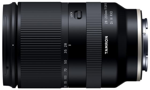 画像: 28-200mm F/2.8-5.6 Di III RXD (Model A071)