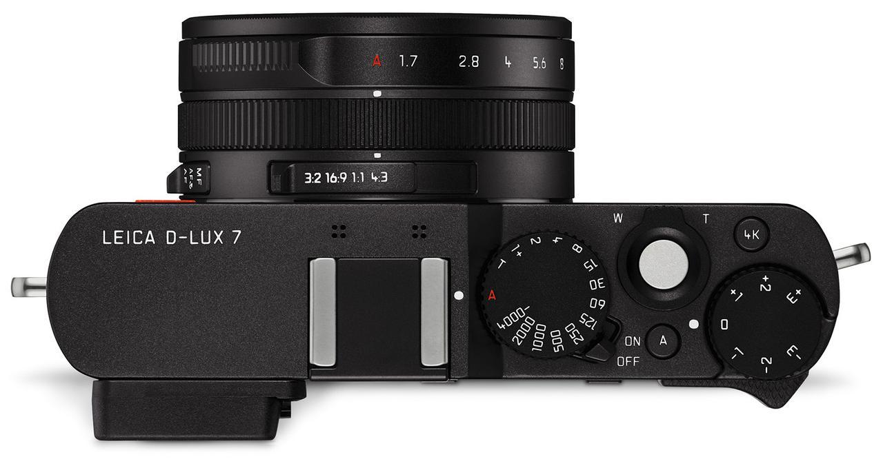 画像1: ライカD-LUX7にブラックモデルを追加