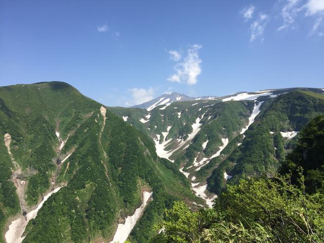 画像: 鉾立展望台から望む奈曽渓谷