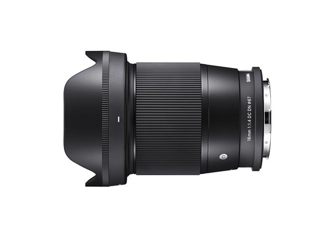 画像: 16mm F1.4 DC DN|Contemporaryの仕様