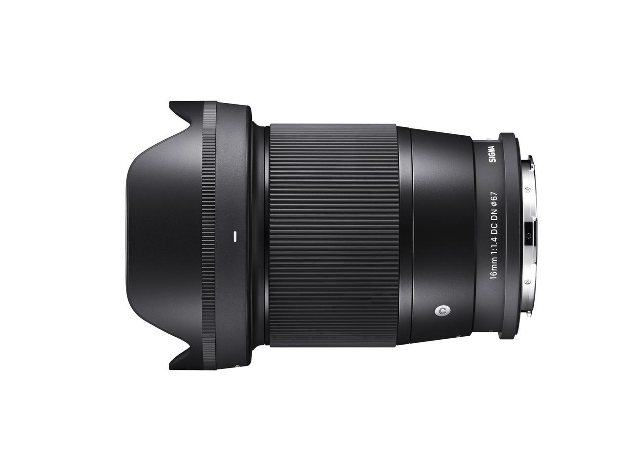 画像: 16mm F1.4 DC DN|Contemporaryの仕様