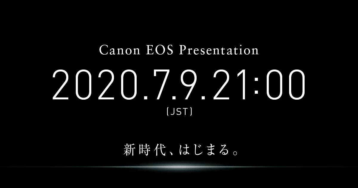 画像: キヤノン:Canon EOS Presentation