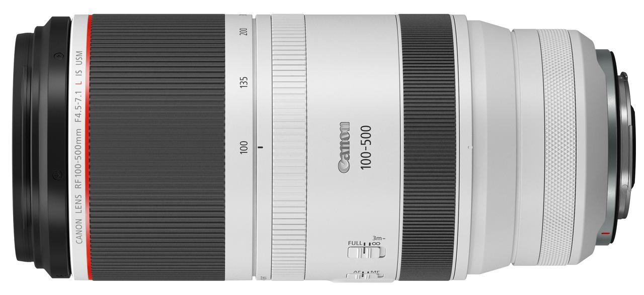 画像2: テレ端500mmまで拡張した RF100-500mm F4.5-7.1 L IS USM