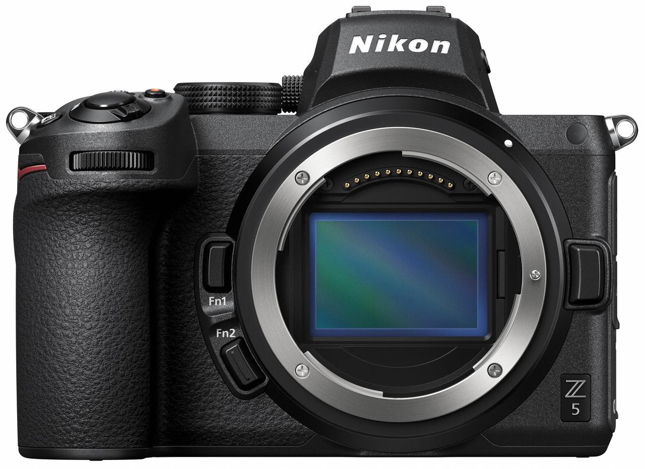 画像2: 手軽に高画質が得られるフルサイズミラーレス機 「ニコンZ 5」発売