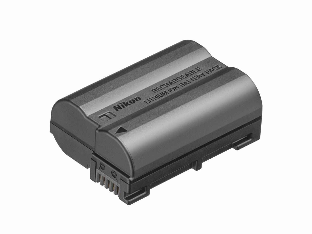 画像: 新たなバッテリーEN-EL15c。容量が20%アップし、Z 5で約470枚の撮影が可能に