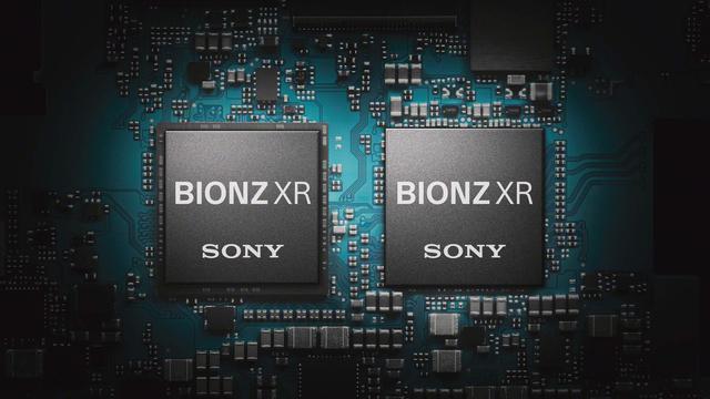 画像: 映像エンジンはBIONZ XRを2チップ搭載する