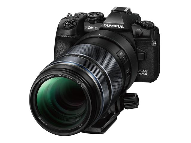 画像: OM-D E-M1 Mark IIIに装着したM.ZUIKO DIGITAL ED 100-400mm F5.0-6.3 IS