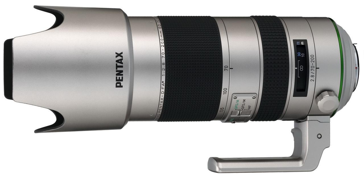 画像: HD PENTAX-D FA★ 70-200mmF2.8ED DC AW Silver Edition