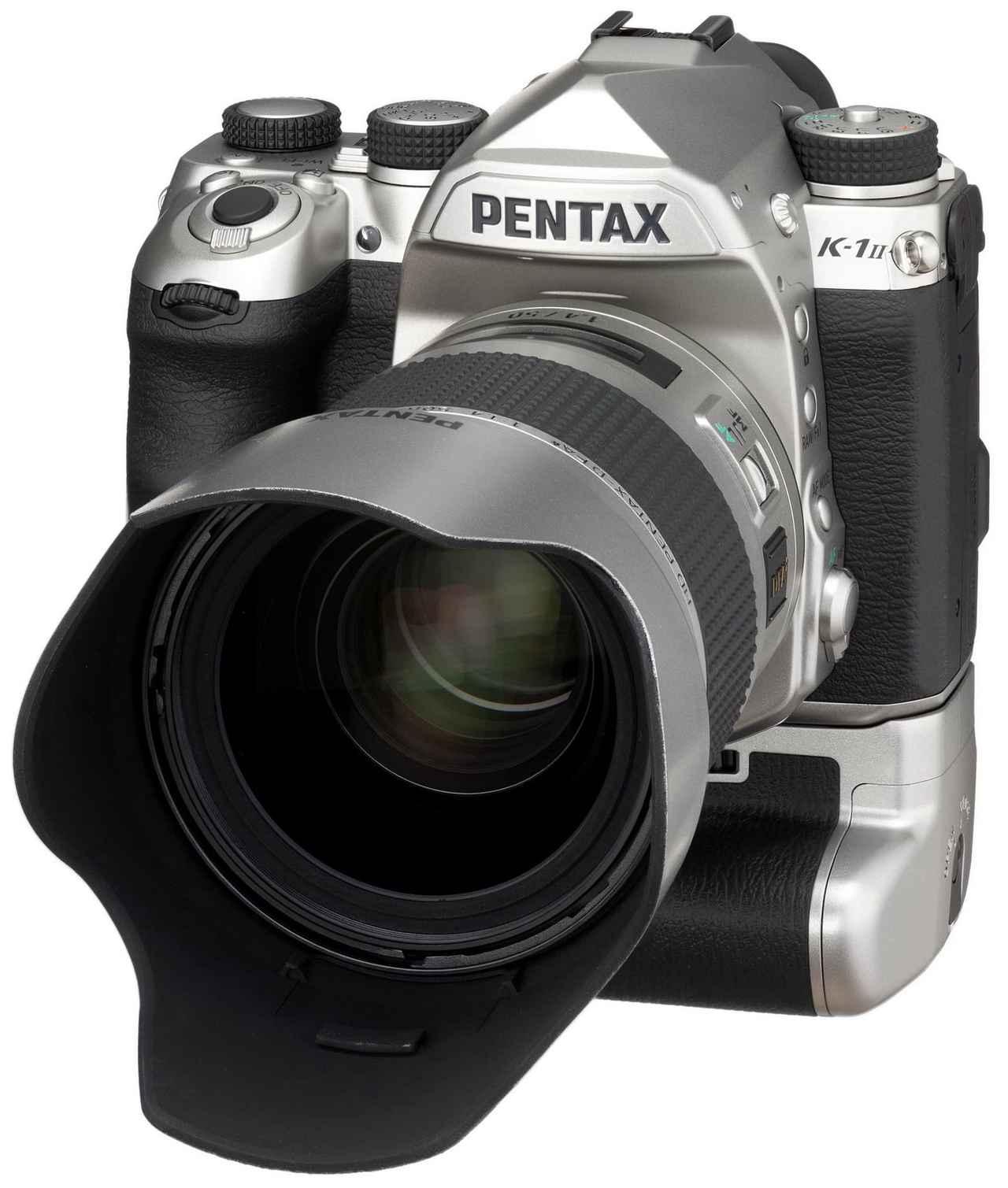 画像: こだわりのシルバー限定モデル PENTAX K-1 Mark II Silver Edition発売