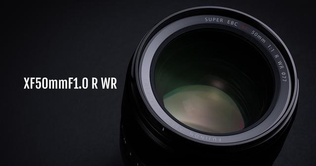 画像: FUJINON XF50mmF1.0 R WR | Lenses | 富士フイルム Xシリーズ & GFX