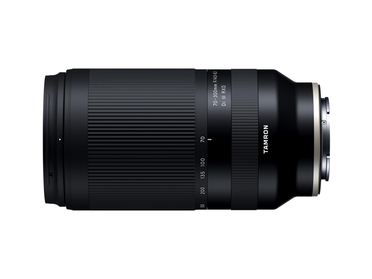 画像1: タムロンはソニーEマウント用望遠ズームレンズ 「70-300mm F/4.5-6.3 Di III RXD (Model A047)」を 2020年10月29日(木)に発売。希望小売価格は税別7万円。