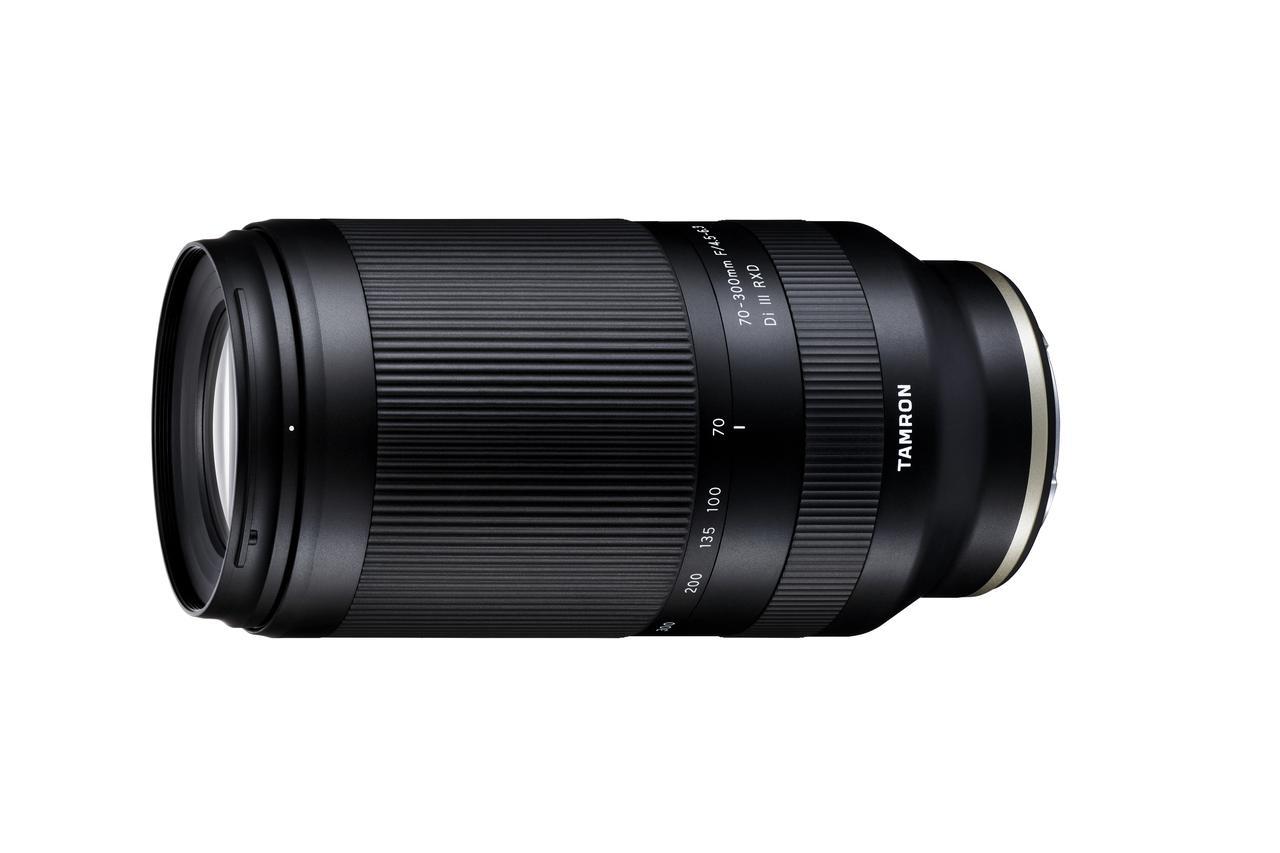 """画像: タムロンは新製品「70-300mm F/4.5-6.3 Di III RXD (Model A047)」発売記念で、""""発売日にレンズが届く"""" 新製品体験モニターキャンペーンを実施。"""