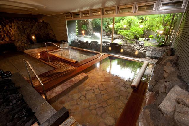 画像: ▲ゆったりとした大浴場「木清の湯」。