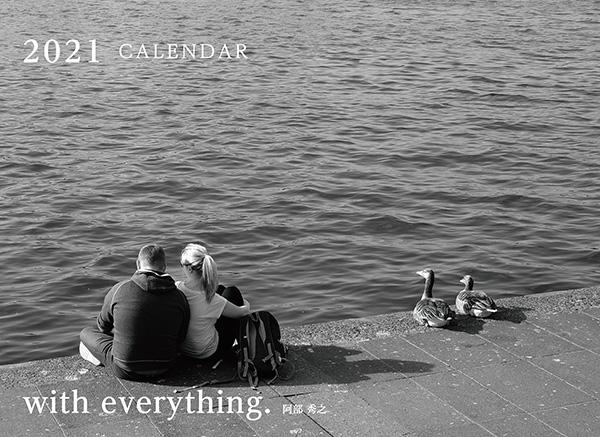画像: カメラマン 2021カレンダーシリーズ 01 阿部秀之 「with everything.」-モーターマガジン Web Shop