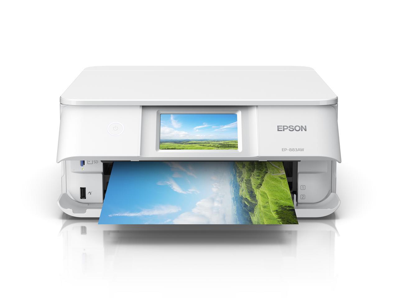 画像1: エプソンは家庭用インクジェットプリンター8種類10モデル発表。 発売は2020年10月22日(木)より順次。