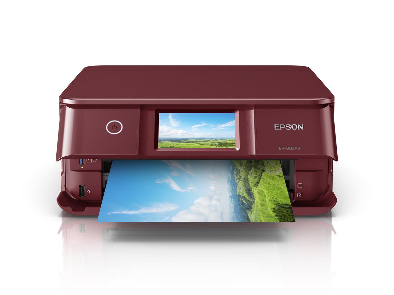 画像3: エプソンは家庭用インクジェットプリンター8種類10モデル発表。 発売は2020年10月22日(木)より順次。