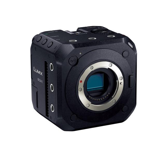 画像: ▲まさに「BOX style Camera」カメラ。