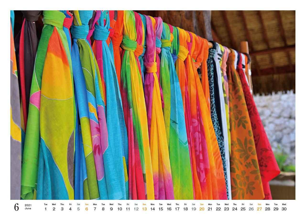 Images : 7番目の画像 - カメラマン2021カレンダー、斎藤勝則「TAHITIAN Sea Breeze」 - Webカメラマン