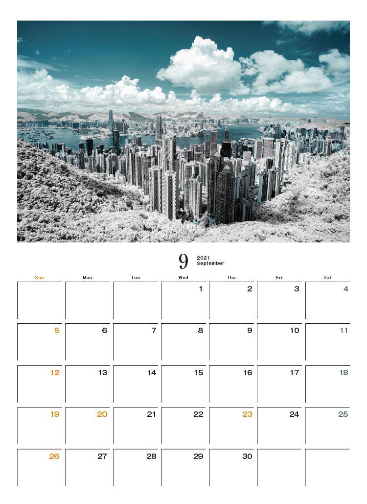 Images : 10番目の画像 - カメラマン2021カレンダー、荒幡信行「赤外線の情景」 - Webカメラマン