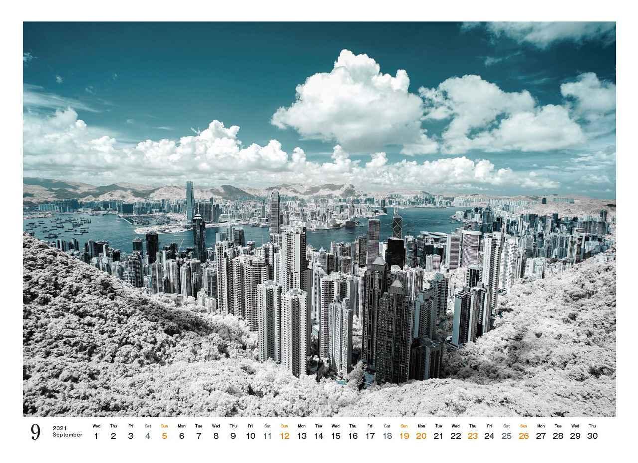 Images : 12番目の画像 - カメラマン2021カレンダー、荒幡信行「赤外線の情景」 - Webカメラマン