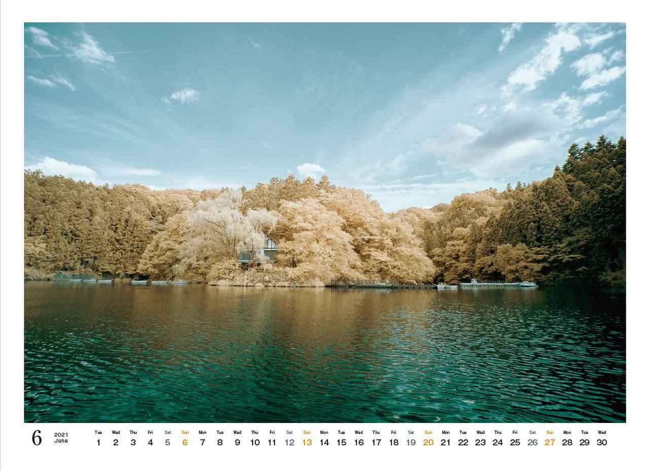 Images : 7番目の画像 - カメラマン2021カレンダー、荒幡信行「赤外線の情景」 - Webカメラマン