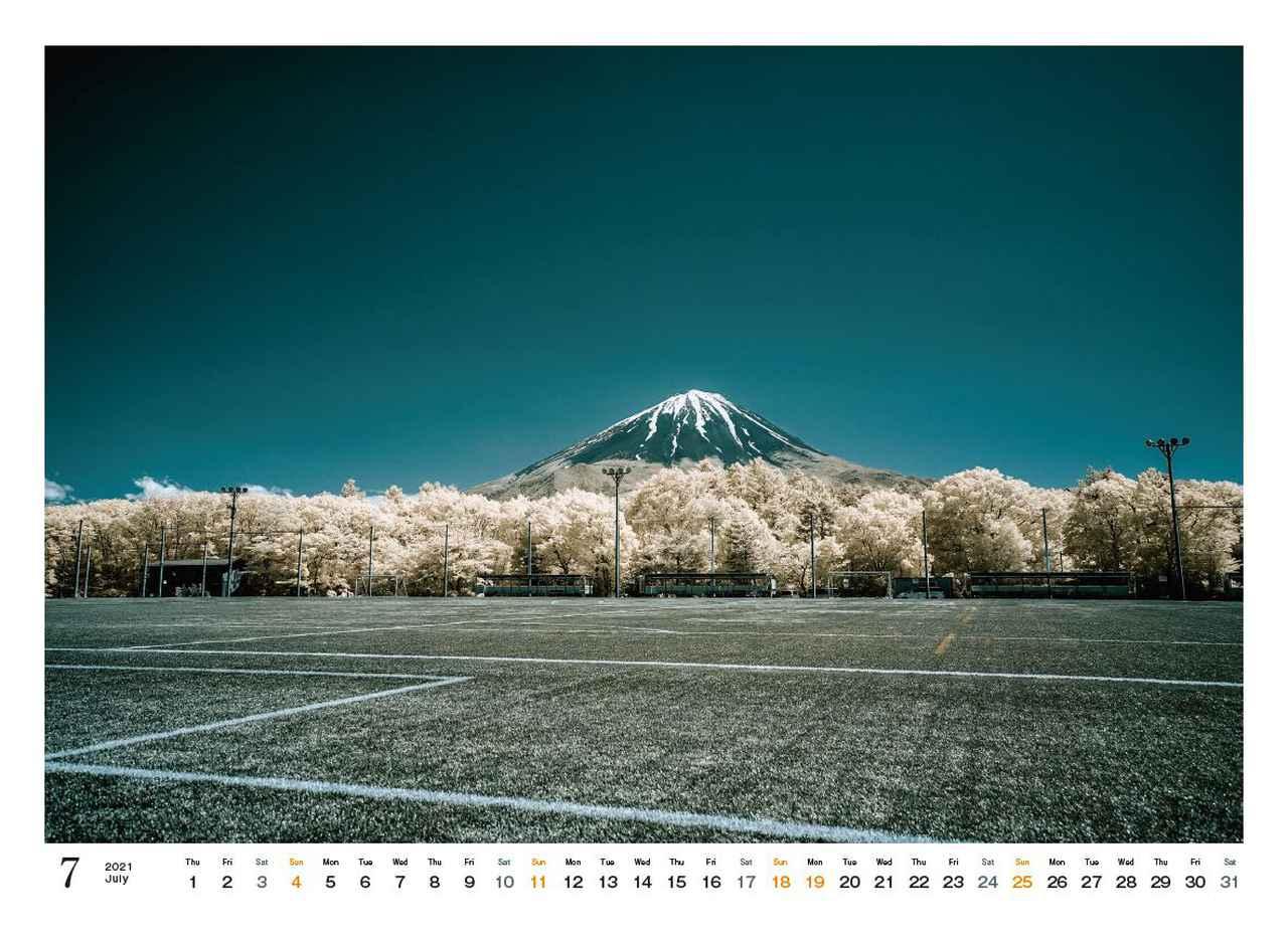 Images : 8番目の画像 - カメラマン2021カレンダー、荒幡信行「赤外線の情景」 - Webカメラマン