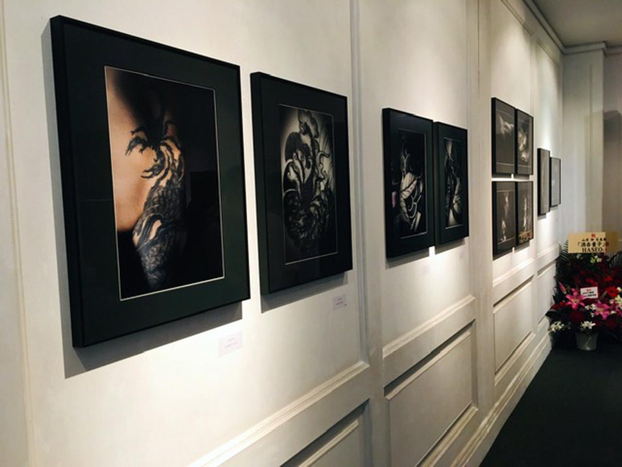画像1: 山岸伸写真展『酒呑童子』。氏にとって初となる画廊(吉井画廊)での作品展示&販売となります。11月14日まで。