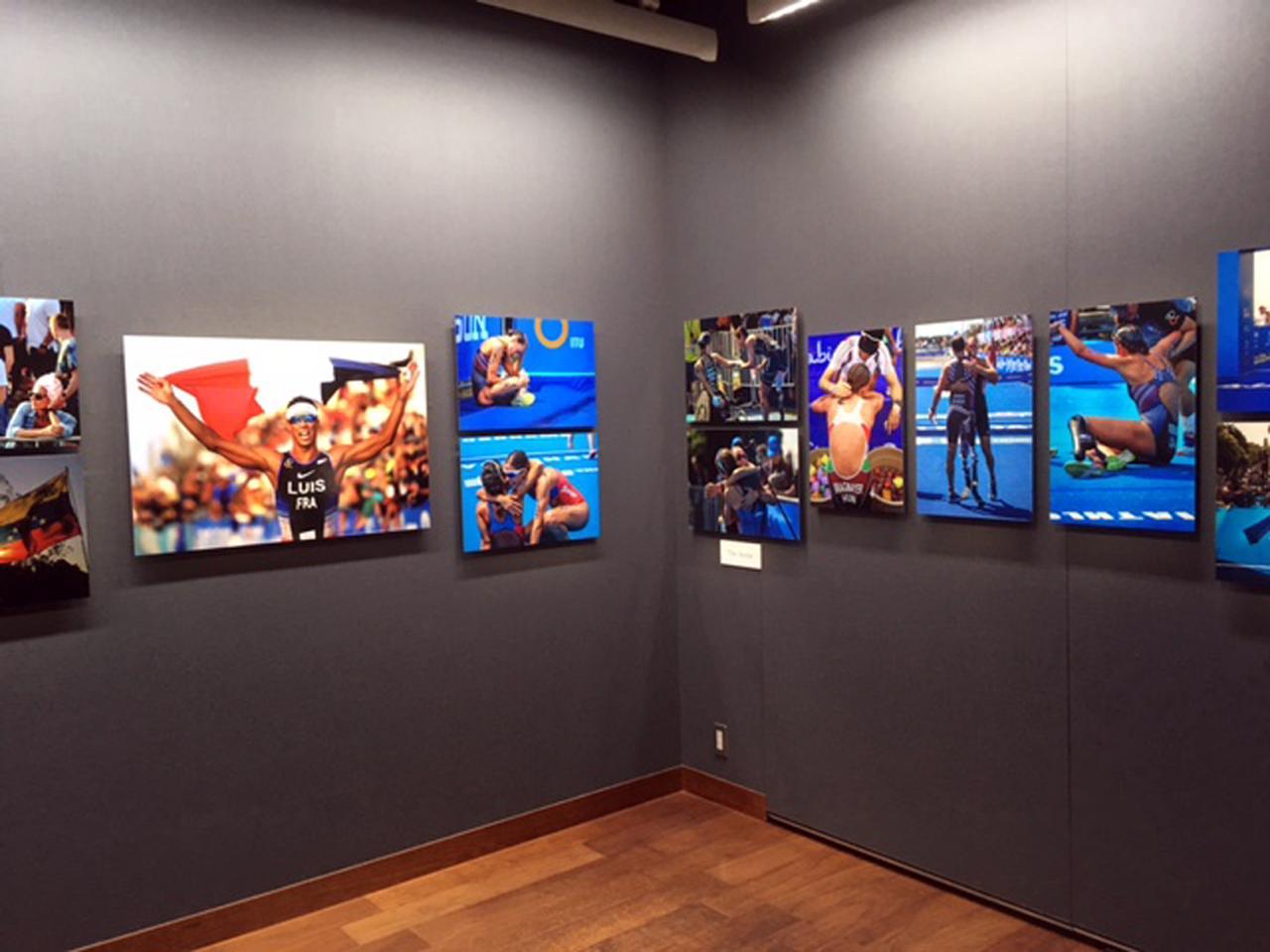 画像2: 泉 悟朗 トライアスロン報道写真展『PASSION/情熱』。3つのシリーズに分けて個展を開催したいと話す泉氏の、3年振り2度目の展示です。