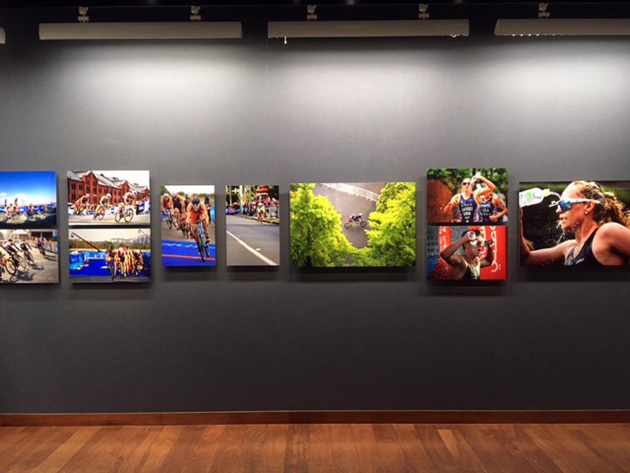 画像3: 泉 悟朗 トライアスロン報道写真展『PASSION/情熱』。3つのシリーズに分けて個展を開催したいと話す泉氏の、3年振り2度目の展示です。