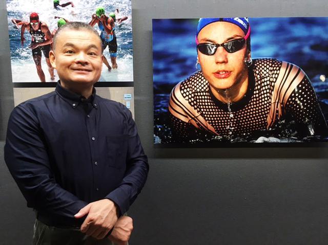 画像1: 泉 悟朗 トライアスロン報道写真展『PASSION/情熱』。3つのシリーズに分けて個展を開催したいと話す泉氏の、3年振り2度目の展示です。