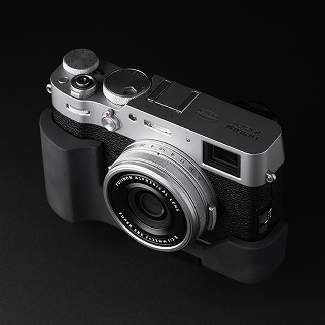 画像: JBカメラデザイン FUJIFILM X100V専用 プログリップケース