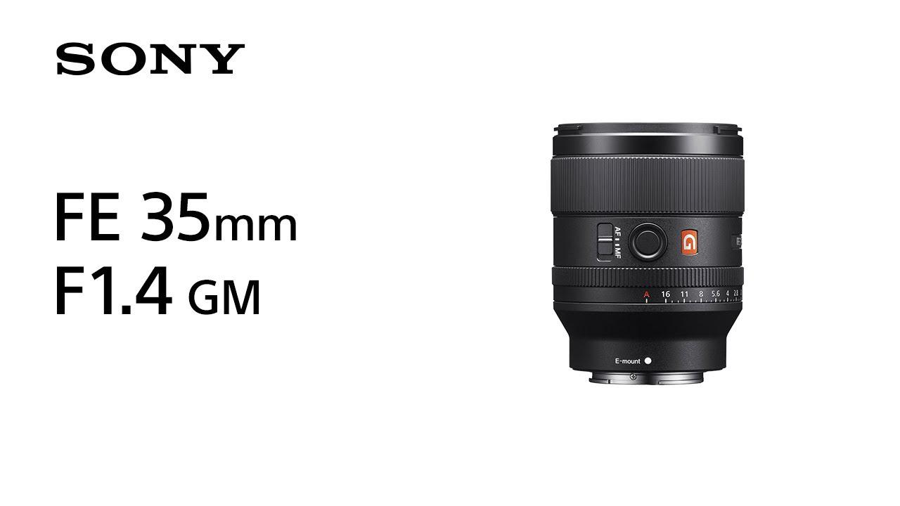 画像: Introducing FE 35mm F1.4 GM   Sony   Lens www.youtube.com