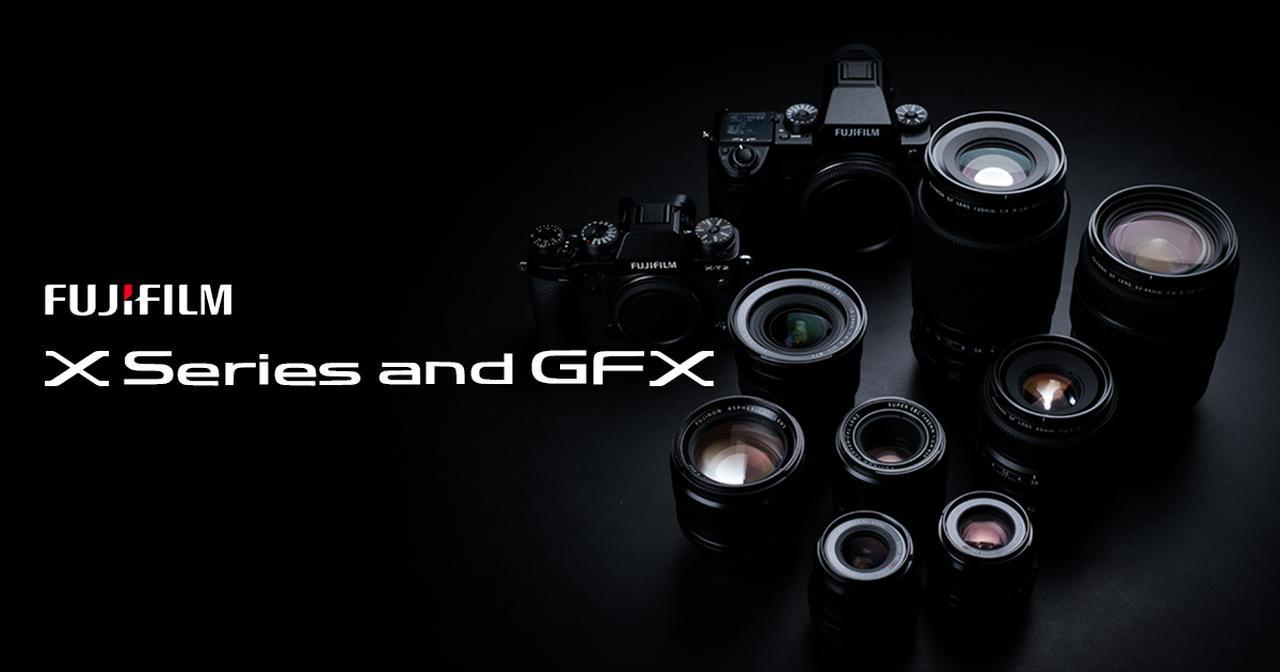 画像: Lenses   富士フイルム Xシリーズ & GFX