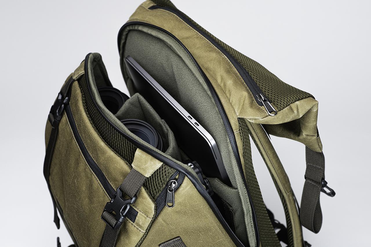 画像9: オリエンタルホビーはヴォータンクラフトの新製品 「パイロット バックパック 20L」を発売開始。