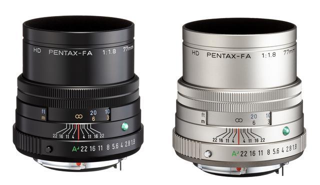 画像: HD PENTAX- FA 77mmF1.8 Limited 12万円(税別)