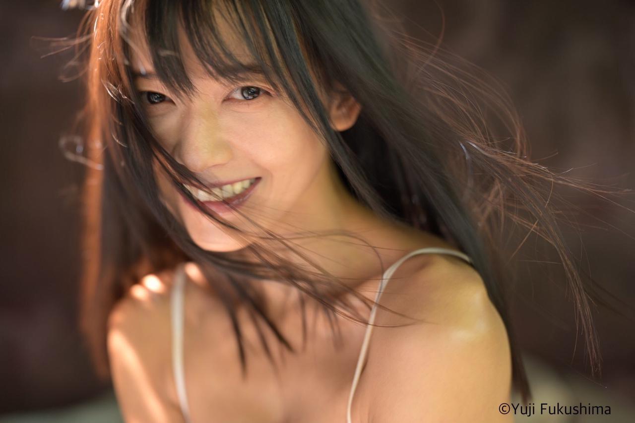 画像: こちらは、いのうえのぞみ写真集製作プロジェクトのタイトルカットね。 https://camp-fire.jp/projects/view/379506