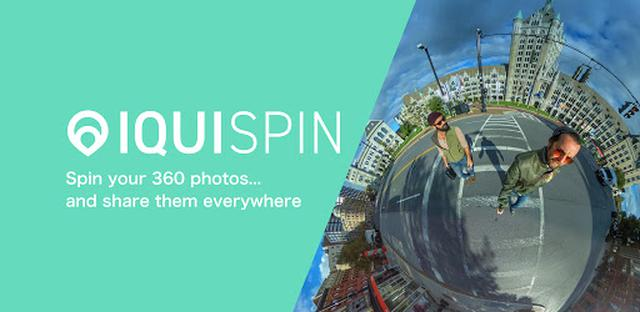 画像: IQUISPIN -360° photo editor- - Apps on Google Play
