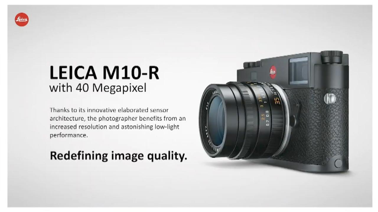 画像: 4000万画素センサー搭載した ライカM10の新ファミリー「ライカM10-R」が登場 - Webカメラマン