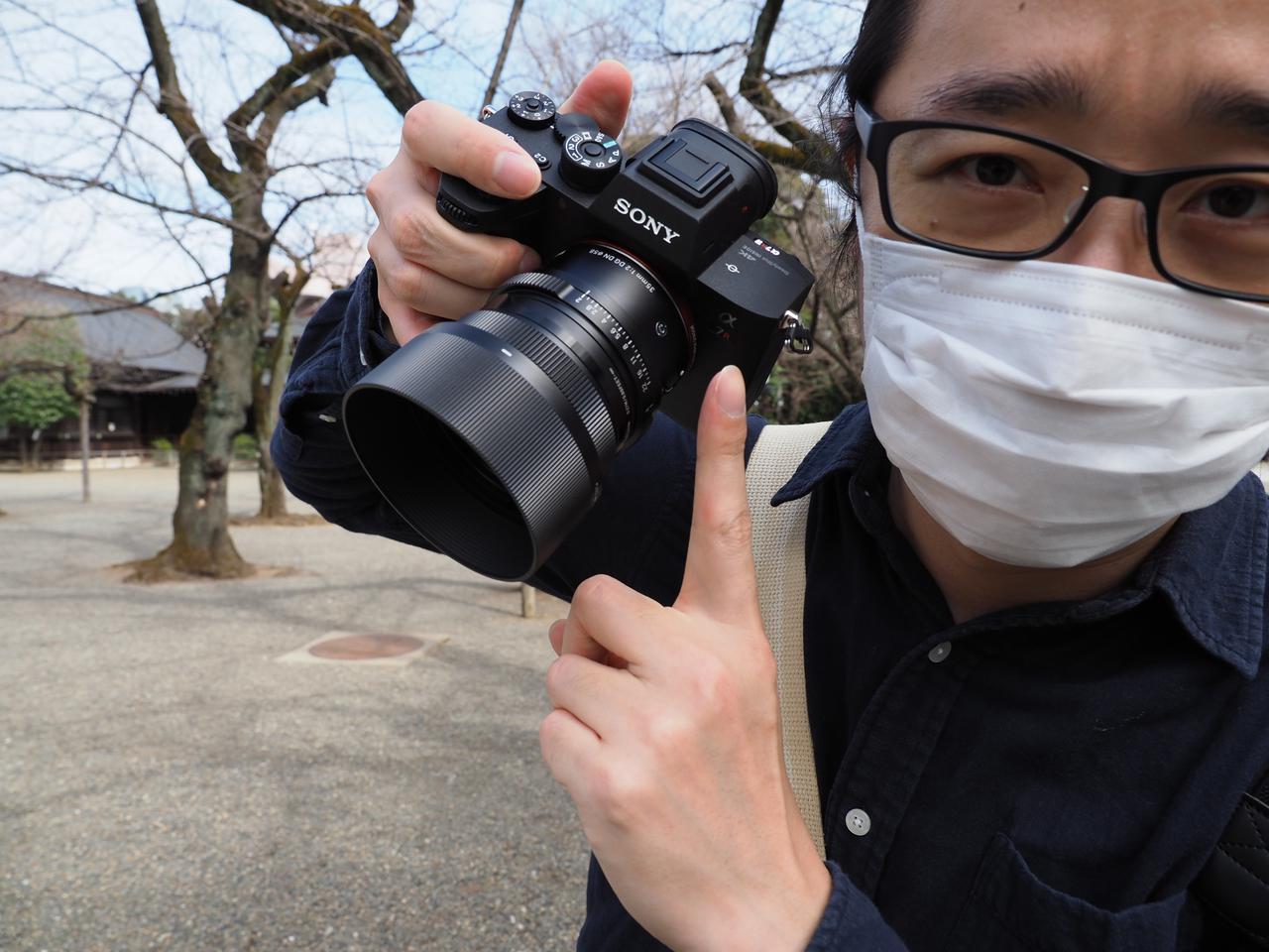 画像: ああ、なんか純正レンズよりもそれっぽく見えるよね。高級感もあるし。