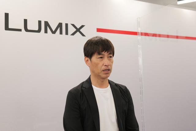 画像: GH5 Ⅱ マーケティングマネージャーの伏塚さん