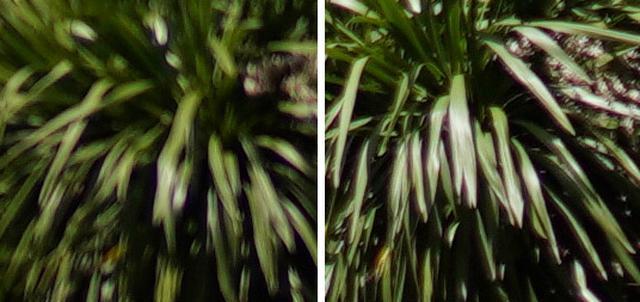 画像: どちらも左がシグマ。日中に遠景を絞り開放で撮るというのはテストの為のテストである旨は明記しておきたい。f/5.6まで絞らないとArtはGMと同等の安定感とはならなかったが、比べてみて初めて気になるのであって、基本的な画質はArtの名に恥じぬものだ。