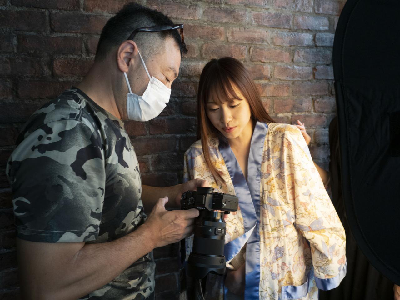画像: ポートレート・バトル NUDE2021 からのスナップ。モデルは桐山結羽さん!