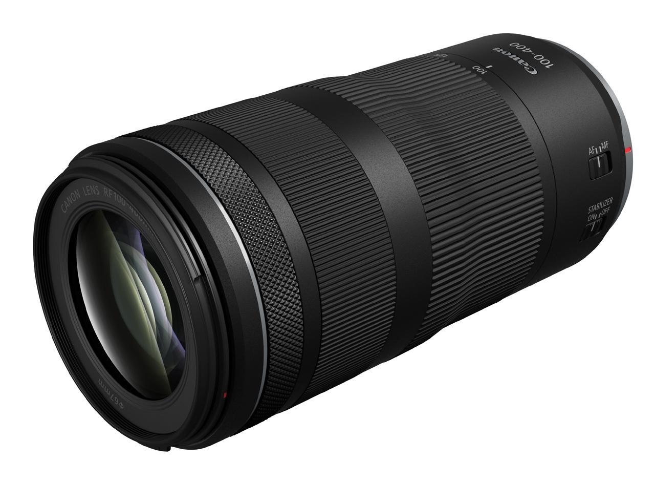画像: RF100-400mm…ありえないサイズです!