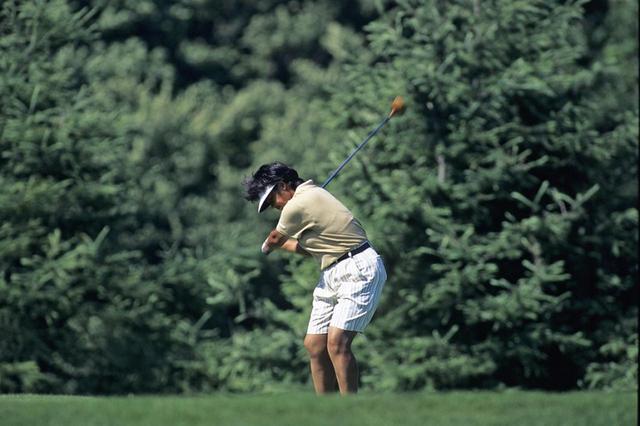 画像: フェードボールを武器に世界と戦った(写真は1995年)