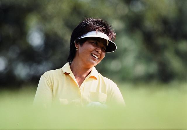 画像: 真っすぐ狙いのゴルフは窮屈と語る (写真は1989年宝インビテーショナル)