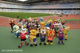 画像: Jリーグのマスコットが勢ぞろい。多くのマスコットがキャラ立ちしている