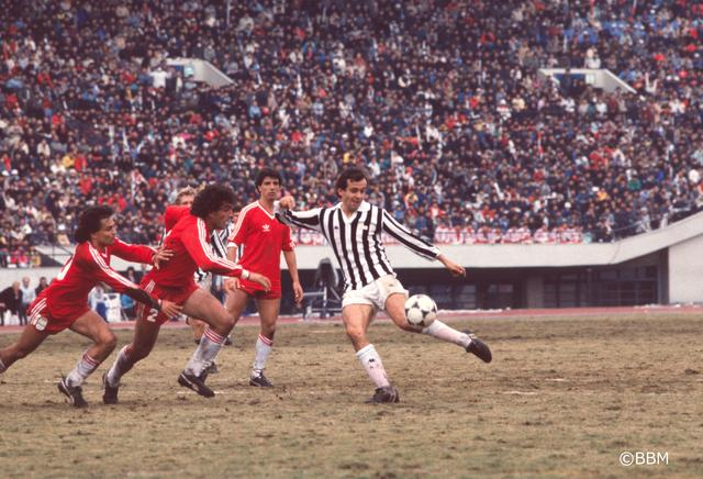 画像: 1985年トヨタカップで来日したプラティニ