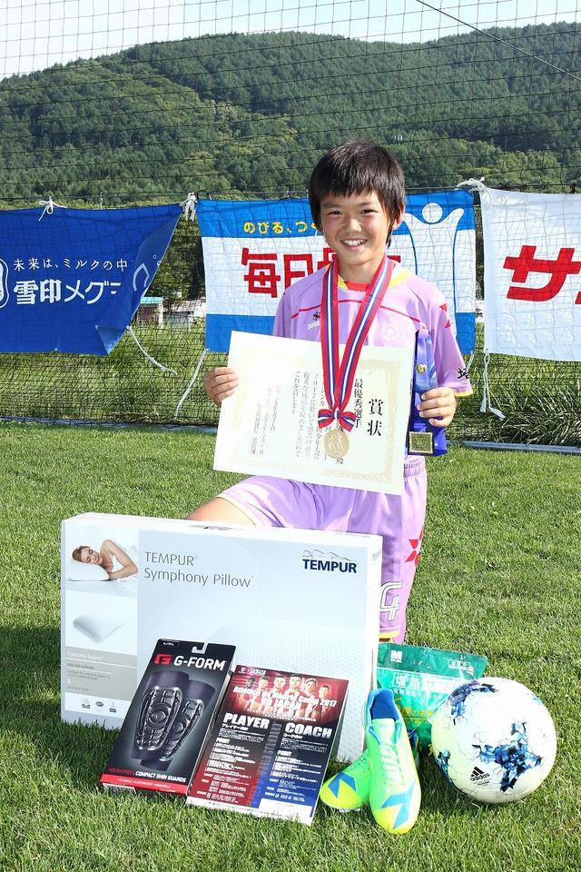 画像: 最優秀選手:熊谷康正(新座片山犬コロFC)
