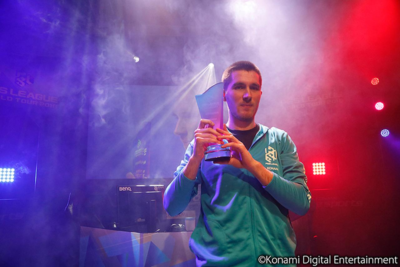 画像: 優勝:ティオミート選手(フランス)